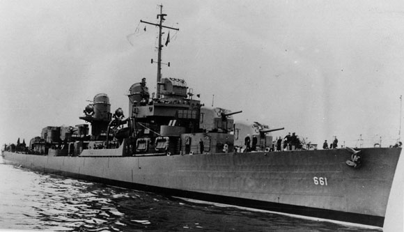 USS KIDD Fletcher Class Destroyer DD-661 Trumpeter 1/350 Kidd410