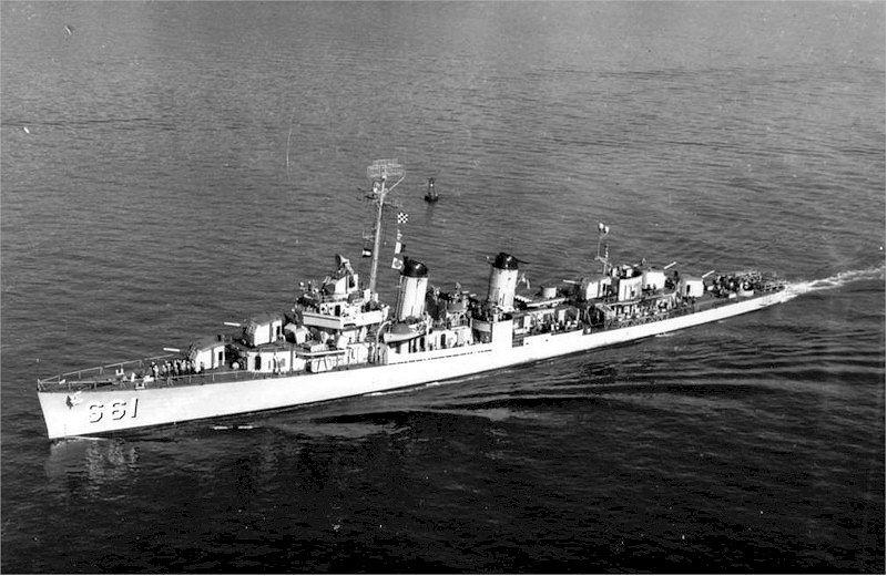 USS KIDD Fletcher Class Destroyer DD-661 Trumpeter 1/350 Kidd_610