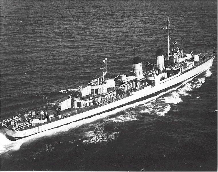 USS KIDD Fletcher Class Destroyer DD-661 Trumpeter 1/350 Kidd_611