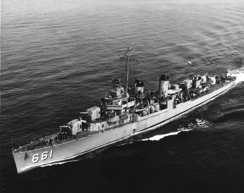 USS KIDD Fletcher Class Destroyer DD-661 Trumpeter 1/350 Uss_ki11
