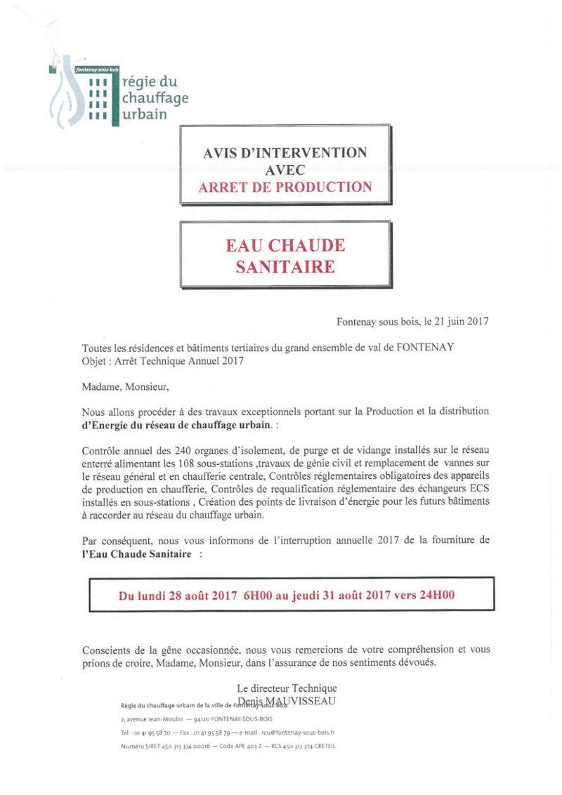 Régie du Chauffage Urbain - RCU - Page 2 Avis_d10