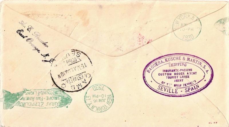 Südamerikafahrt 1930, Post nach Sevilla - Seite 3 Scanne10