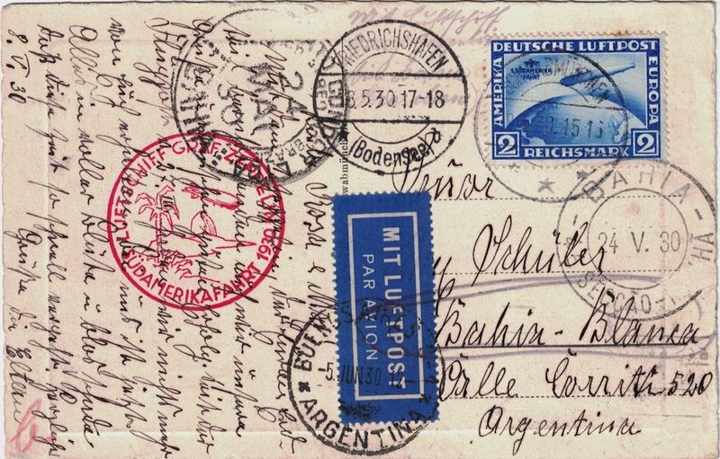 Zeppelinpost aus USA Schwab10