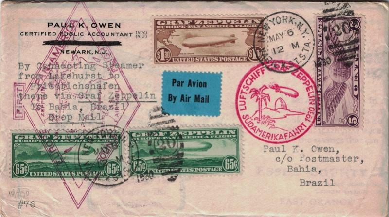 Zeppelinpost aus USA Usa_ba10