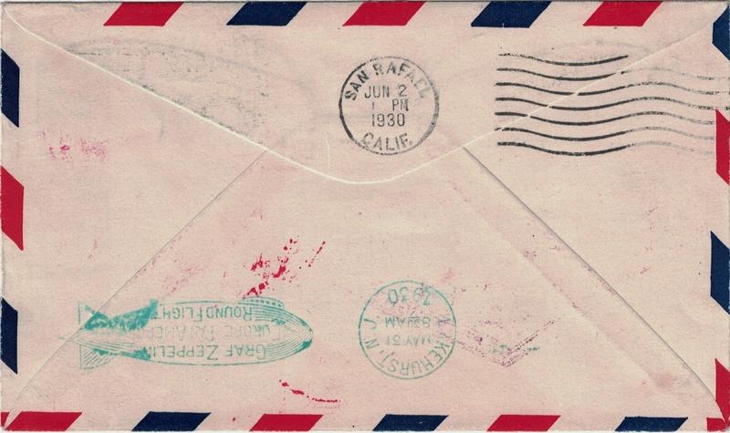 Zeppelinpost aus USA Usa_fd10