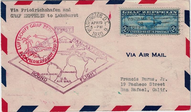 Zeppelinpost aus USA Usa_fd11