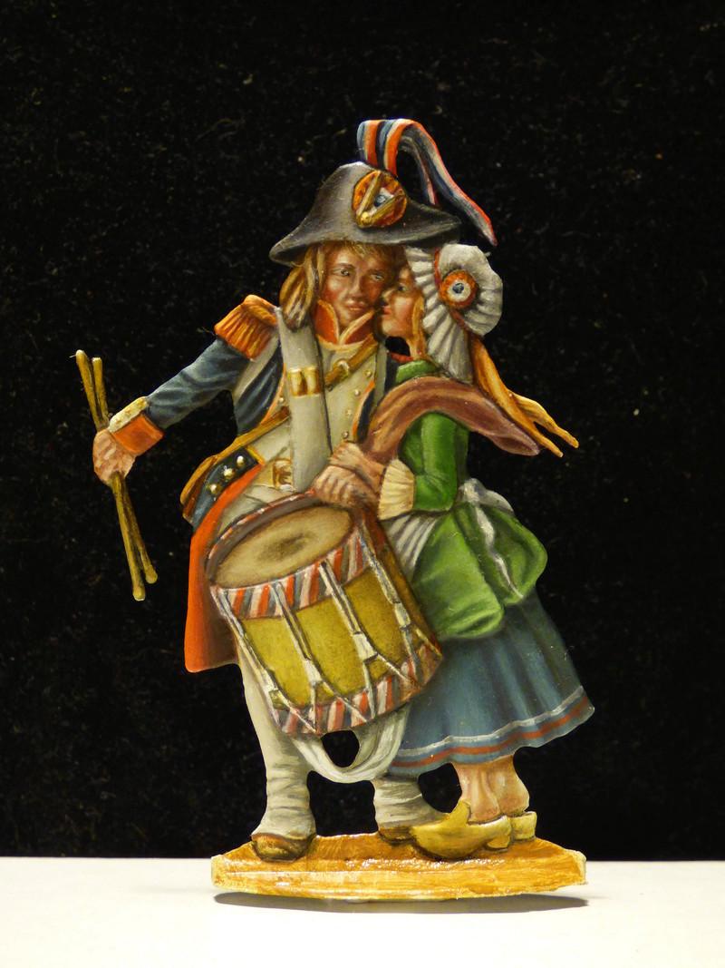 jeune tambour  (plat 54 mm Benedikt widmann) P1010652