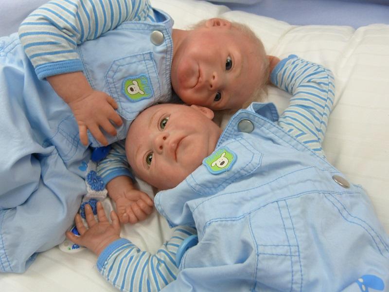 Jase und Jonas als Zwillinge P1050812