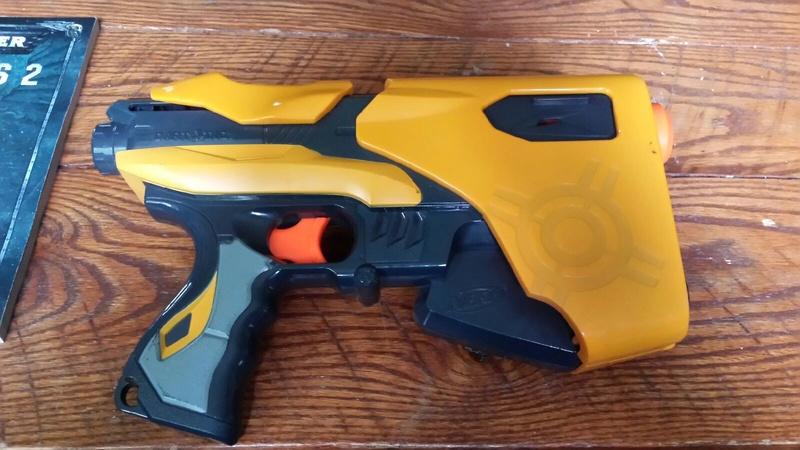 Nerf Gun Customization 20170710