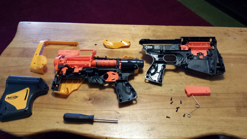 Nerf Gun Customization 20170714