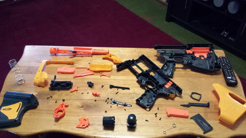 Nerf Gun Customization 20170715