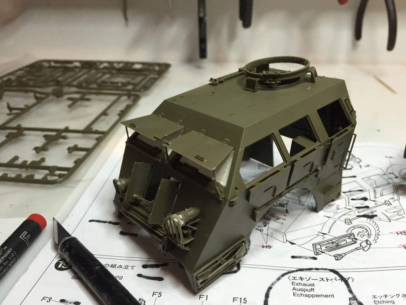 Dragon Wagon - Tamiya 1/35 - avec excavatrice scratch Abc_3710