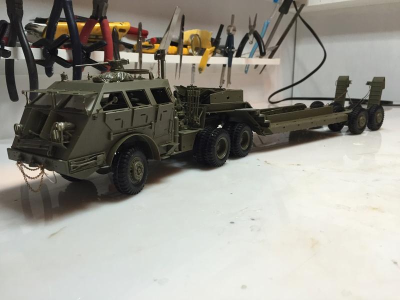Dragon Wagon - Tamiya 1/35 - avec excavatrice scratch Abc_4410