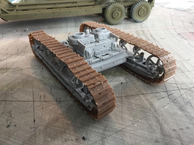 Dragon Wagon - Tamiya 1/35 - avec excavatrice scratch Img_5713