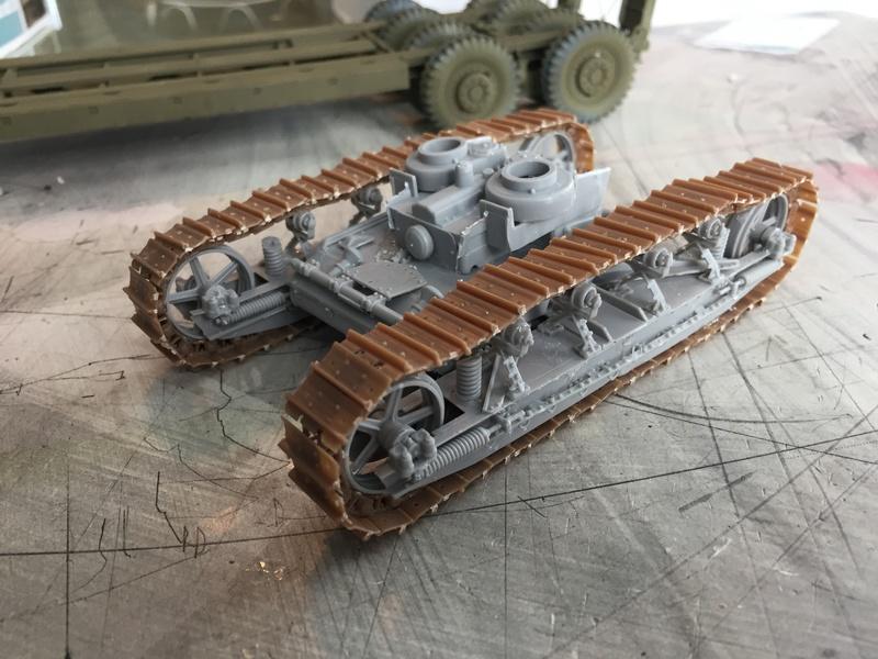 Dragon Wagon - Tamiya 1/35 - avec excavatrice scratch Img_5718