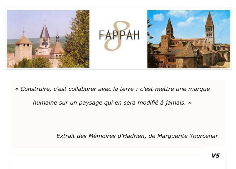 FAPPAH, Annuaire interactif Version juillet 2017 de la Fédération des Associations de sauvegarde et mise en valeur du patrimoine bâti, paysager et immatériel concentrées entre Cluny Tournus et périphérie du PAH . 0211