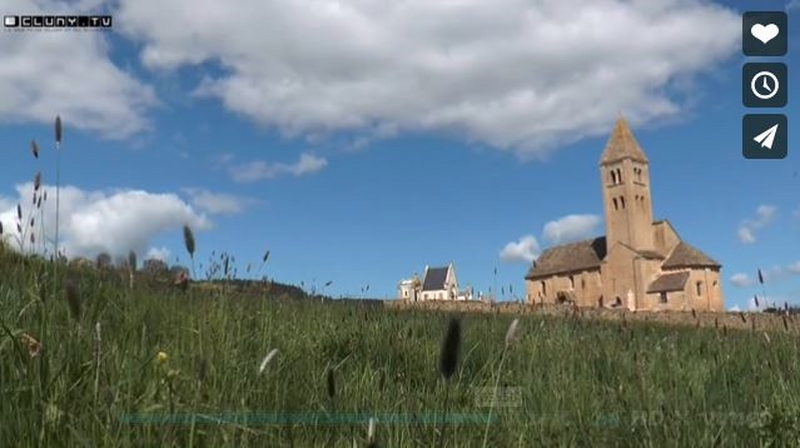film vidéo, réalisé par Cluny TV, vient d'être mis en ligne, consultable sur le site « https://www.cluny.tv ».   AMB, Association des Amis de Michel Bouillot 1k_cop10