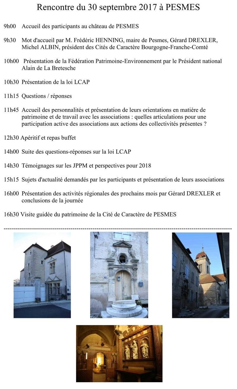 Rencontre Régionale Annuelle sur le patrimoine , l'environnement et vos activités associatives 211