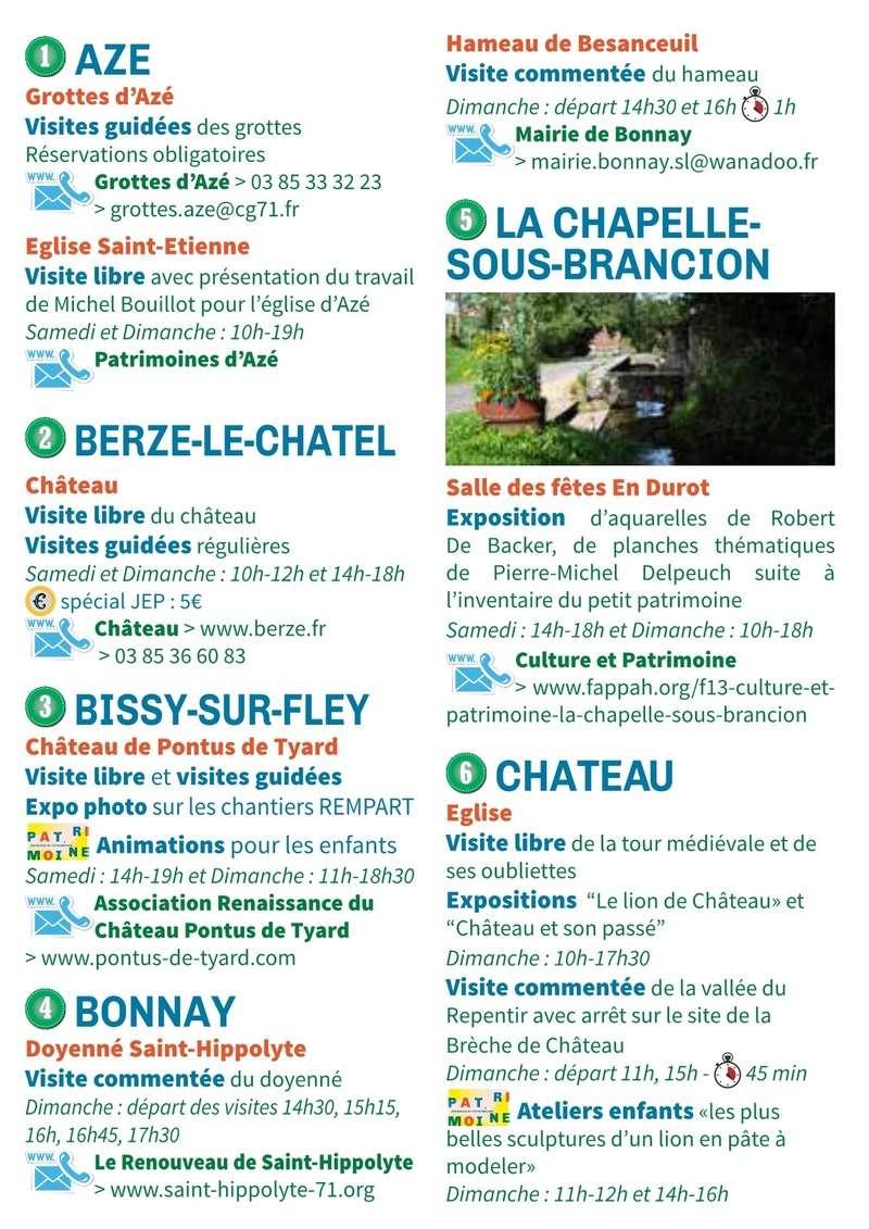 Les programmes des Journées du Patrimoine sont arrivés dans les offices du tourisme et au PAH. Ils sont prêts à être distribués dans tout le territoire avec des affiches ! Et vous,  êtes-vous prêts pour les JEP 2017 ? 3_110