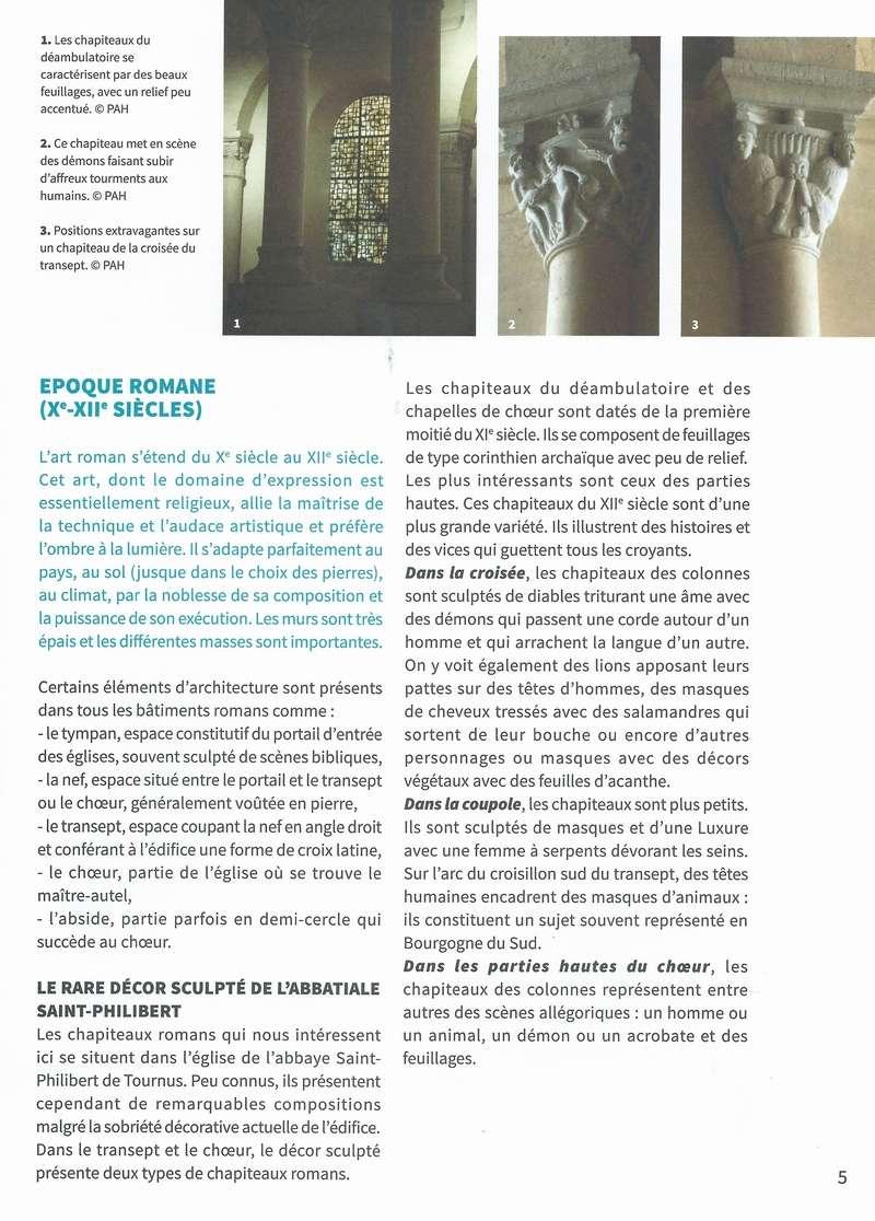 """Dépliant """"Focus - La sculpture de pierre entre Cluny et Tournus"""", rédigé par les élèves de 2nde option patrimoine du Lycée Gabriel Voisin de Tournus.  Focus_10"""