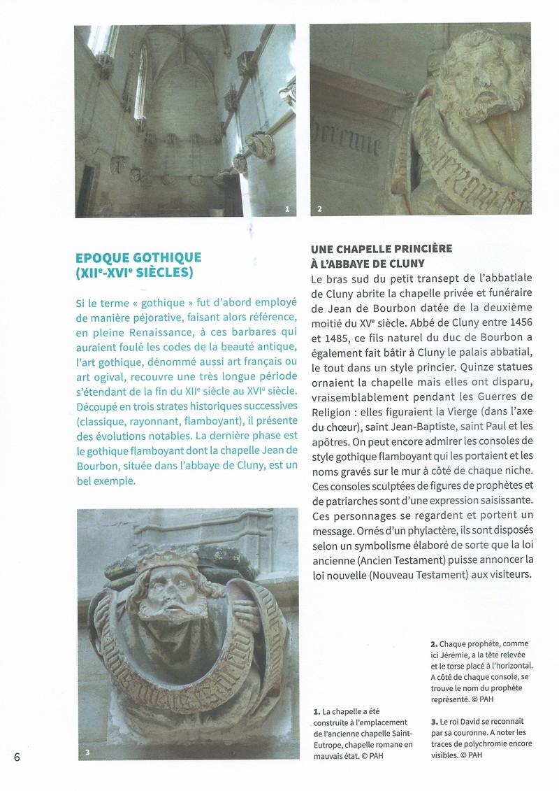 """Dépliant """"Focus - La sculpture de pierre entre Cluny et Tournus"""", rédigé par les élèves de 2nde option patrimoine du Lycée Gabriel Voisin de Tournus.  Focus_11"""