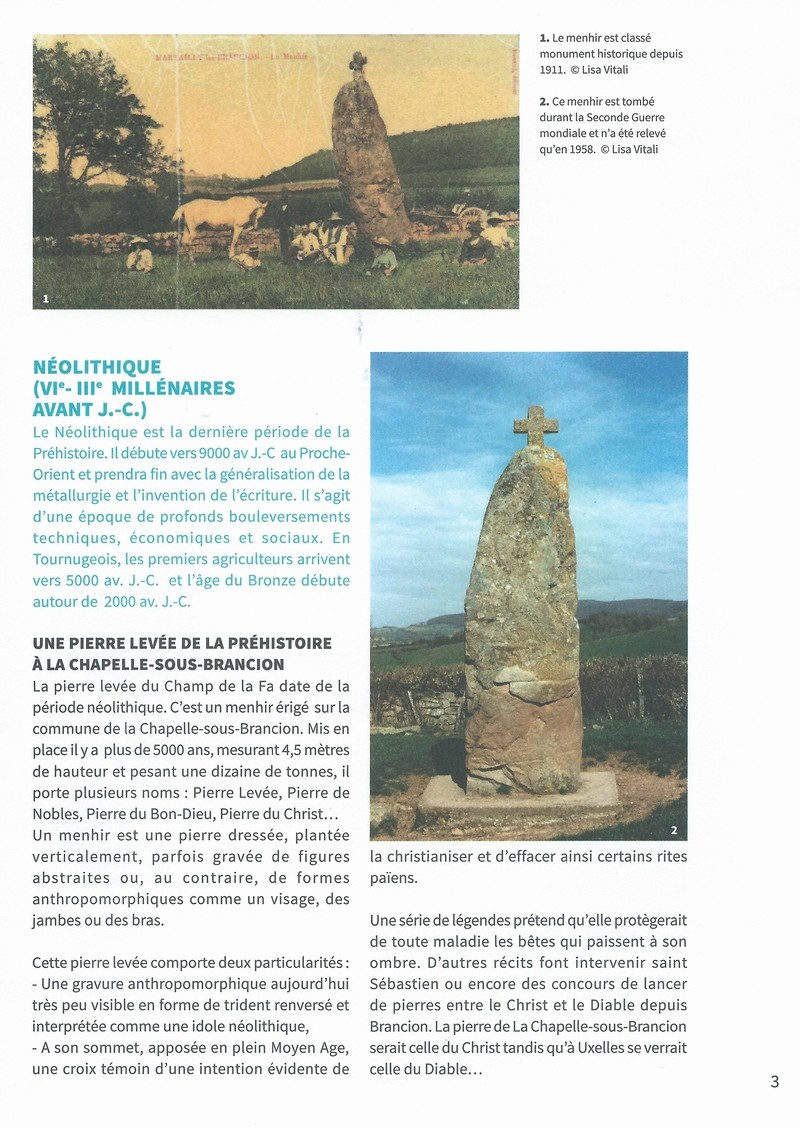 """Dépliant """"Focus - La sculpture de pierre entre Cluny et Tournus"""", rédigé par les élèves de 2nde option patrimoine du Lycée Gabriel Voisin de Tournus.  Focus_12"""