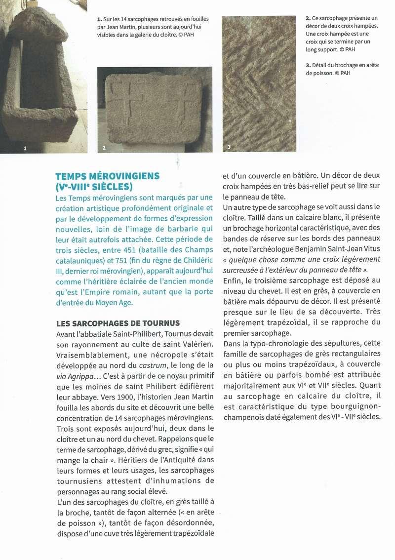 """Dépliant """"Focus - La sculpture de pierre entre Cluny et Tournus"""", rédigé par les élèves de 2nde option patrimoine du Lycée Gabriel Voisin de Tournus.  Focus_13"""