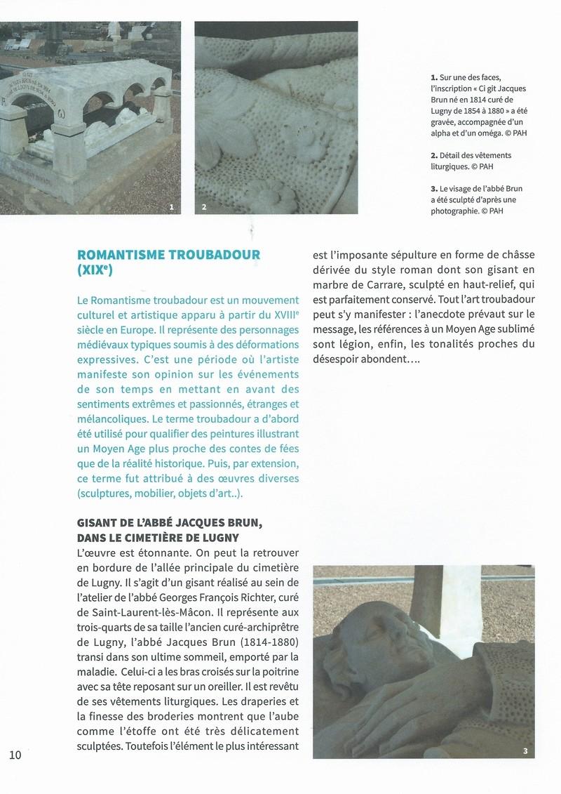 """Dépliant """"Focus - La sculpture de pierre entre Cluny et Tournus"""", rédigé par les élèves de 2nde option patrimoine du Lycée Gabriel Voisin de Tournus.  Focus_16"""