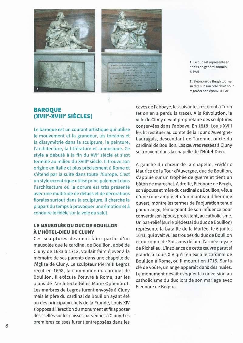 """Dépliant """"Focus - La sculpture de pierre entre Cluny et Tournus"""", rédigé par les élèves de 2nde option patrimoine du Lycée Gabriel Voisin de Tournus.  Focus_20"""