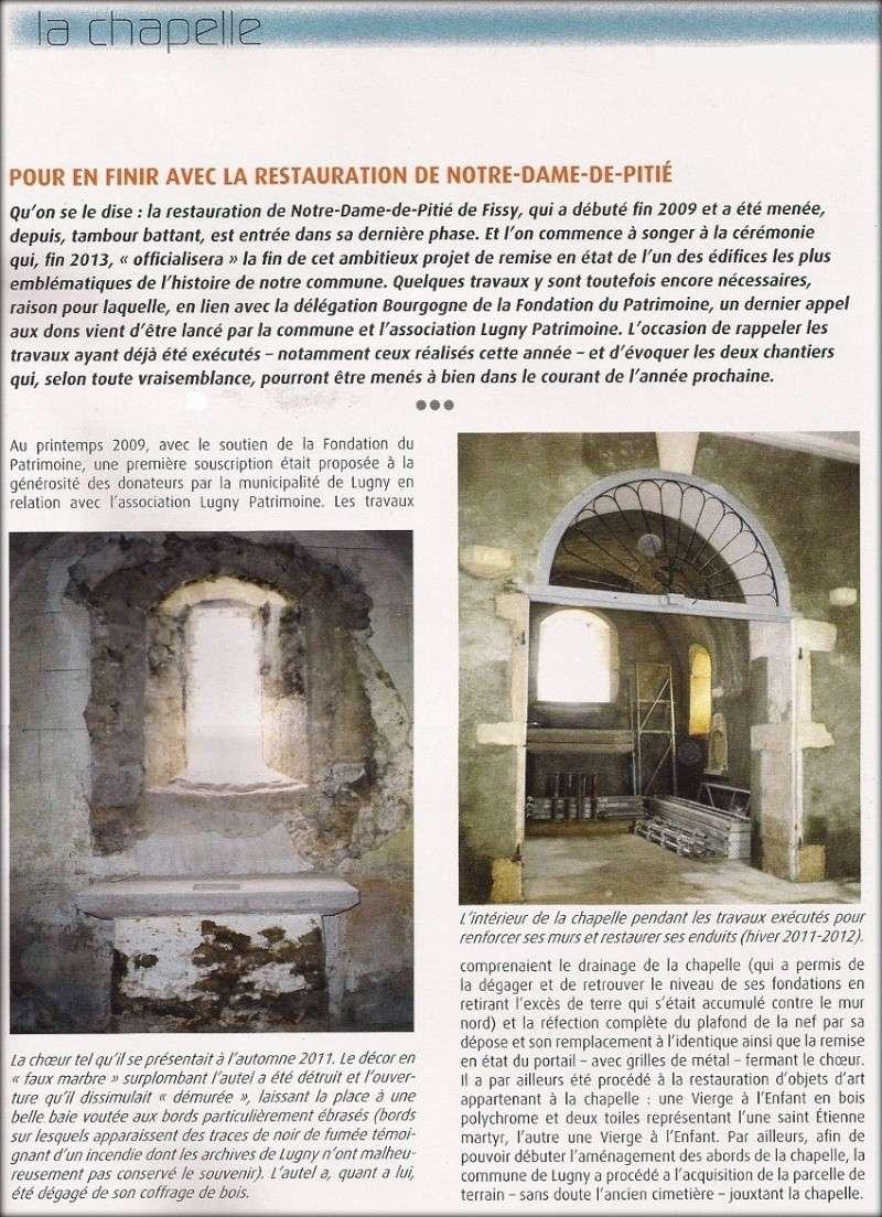 Pour en finir avec la restauration de notre Dame de Pitié Lugny_17
