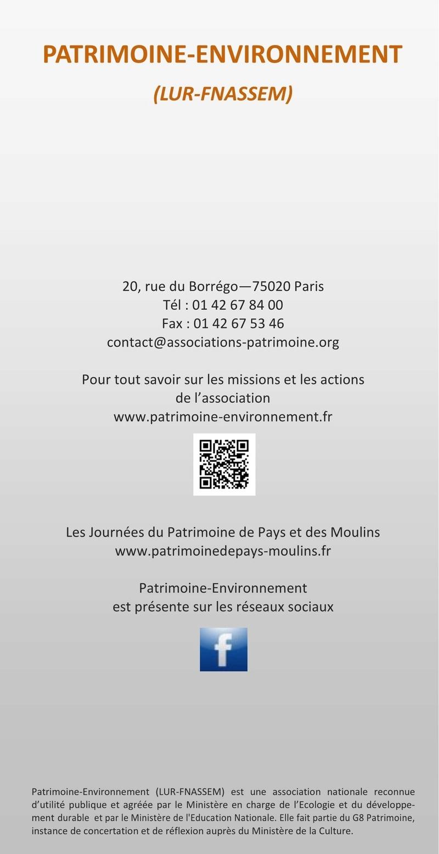 Patrimoine et Environment Plaque11