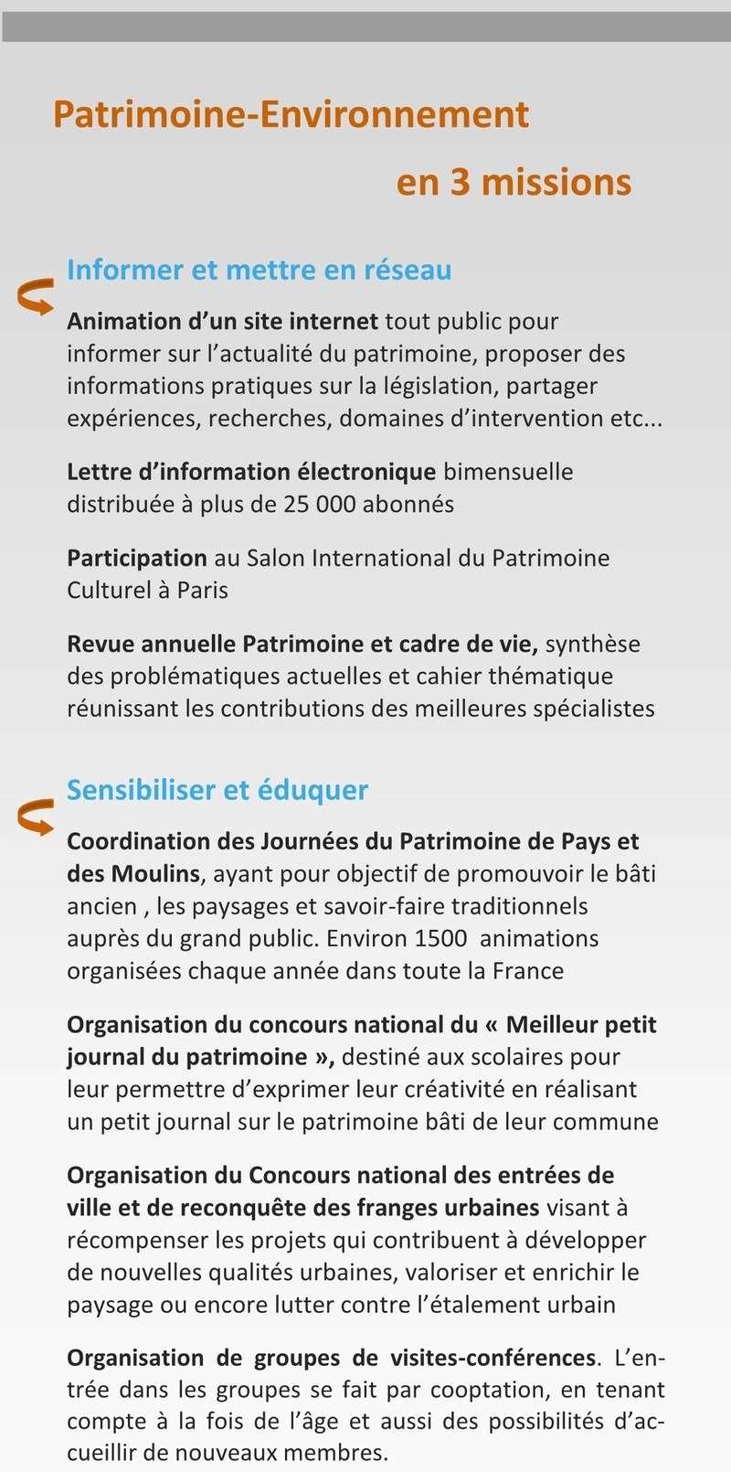 Patrimoine et Environment Plaque15