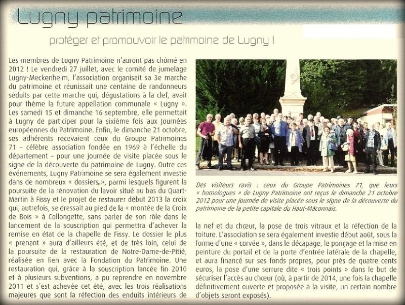Protèger et promouvoir le patrimoine de LUGNY Proteg11