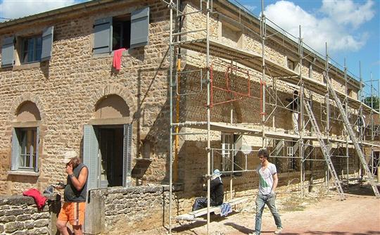 Centre rural : chantier Rempart à Charly Une-op10