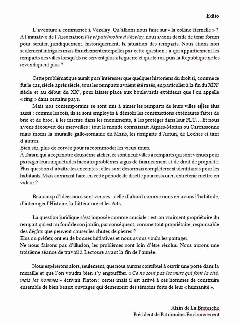 """La revue """"Patrimoine Environnement"""" 2017 bientôt disponible ! Ydito_11"""