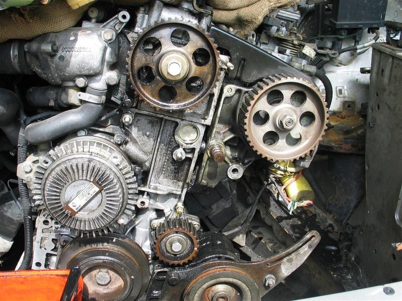 Pompe à eau moteur J8S 10_les10