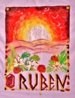 Art et foi : les douze tribus d'Israël Ruben-10