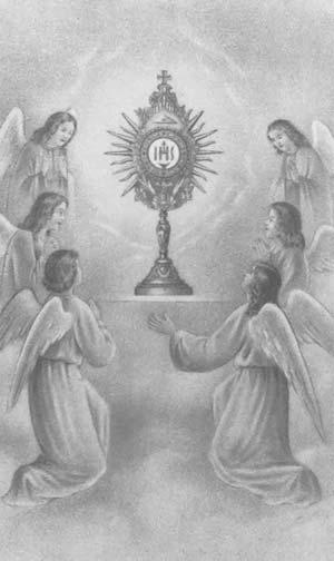 Des multitudes d'Anges assistent à toutes les Messes ♥  Saint-10