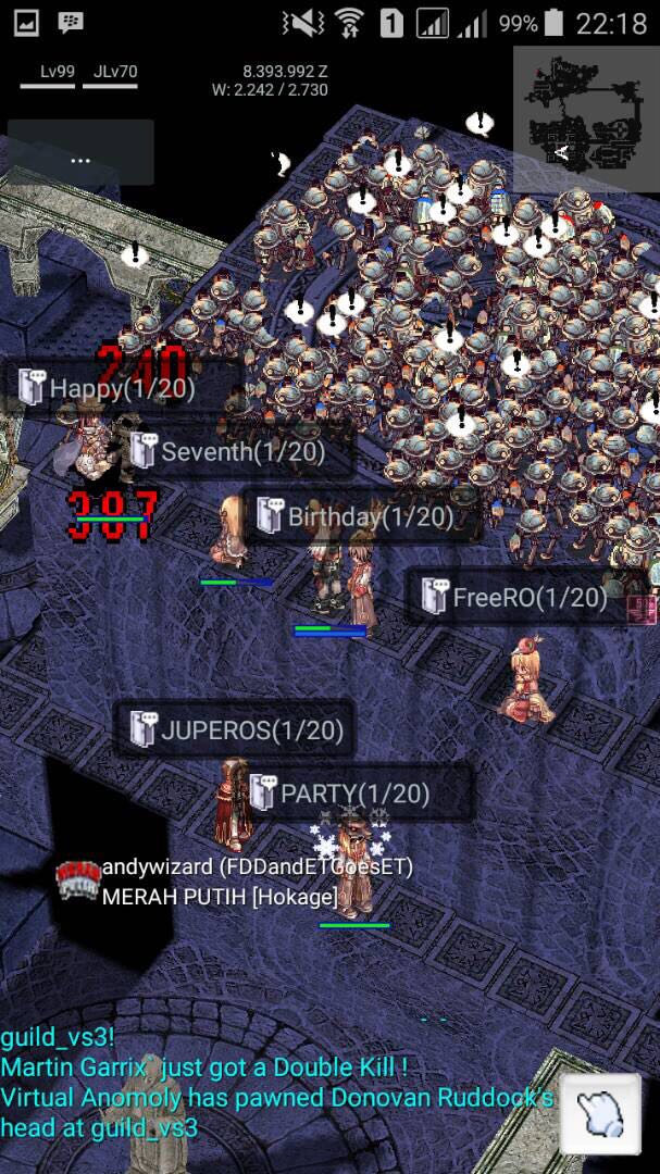 Event Screenshot Game FreeRO (Android) Freero14