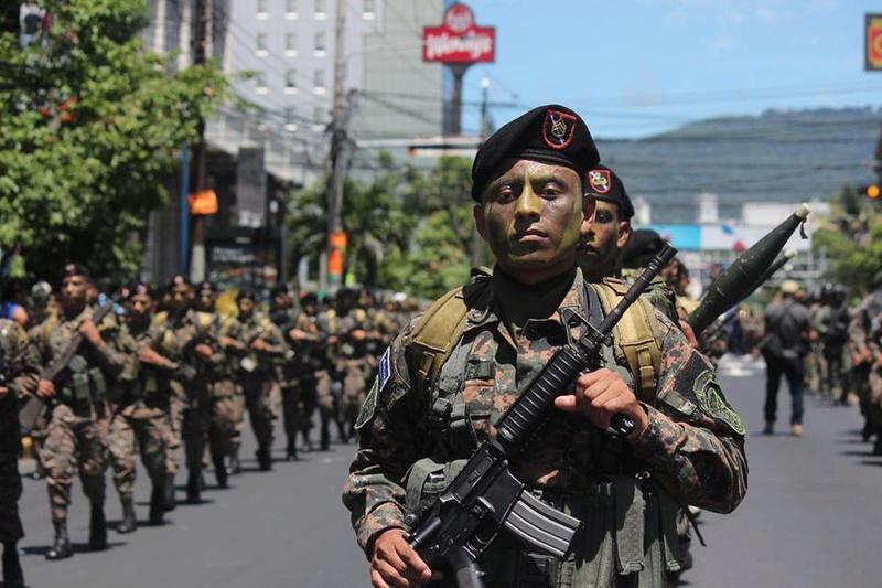 Forces armees du Salvador/Armed Forces of El Salvador 1037
