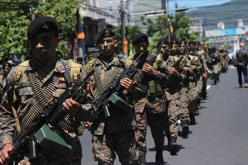 Forces armees du Salvador/Armed Forces of El Salvador 856