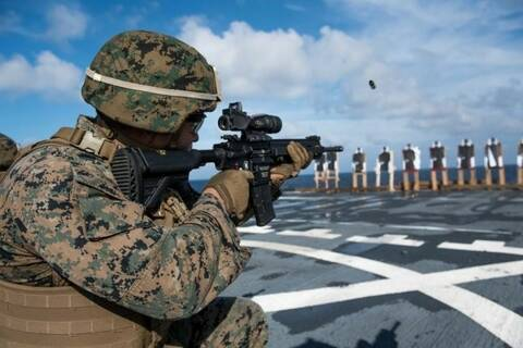 Fusil Porte-Cartouche//Cheek Rest//Buttstock Shell-Digital Camo Army Combat Uniform
