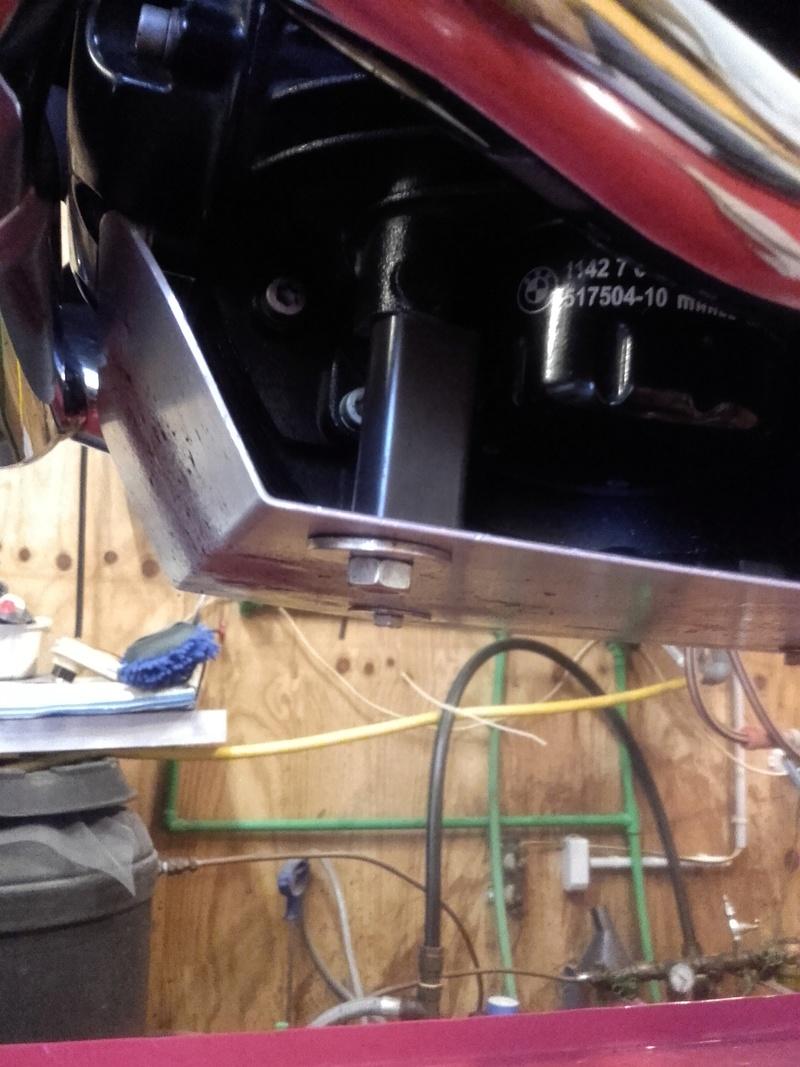 Sabot moteur pour R1200R de 2012 20170817