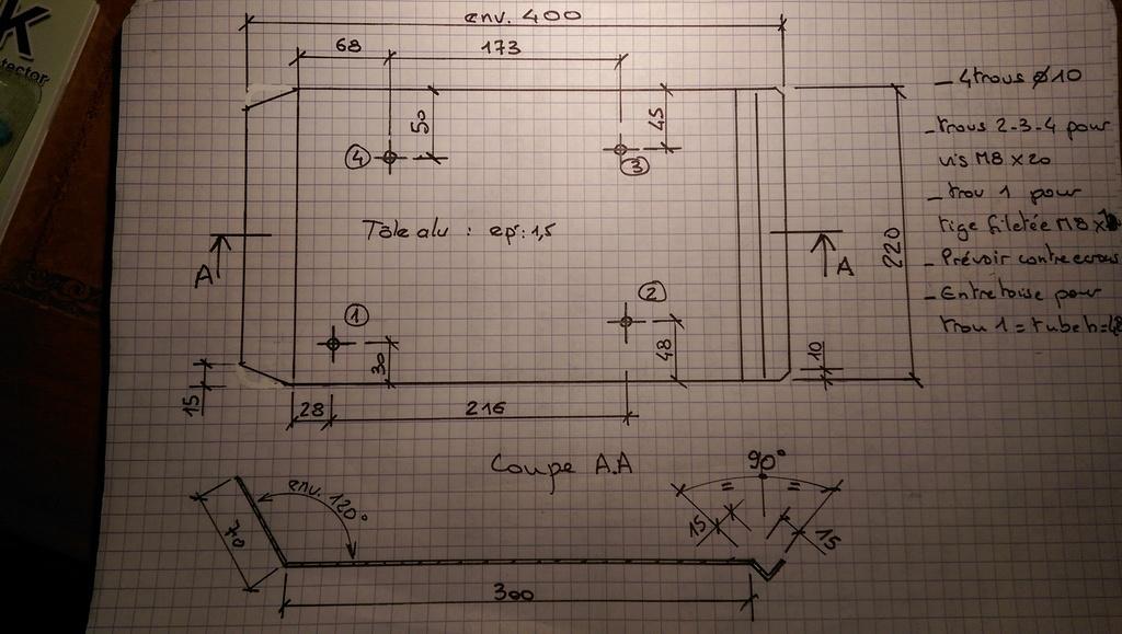 Sabot moteur pour R1200R de 2012 Pare_c10