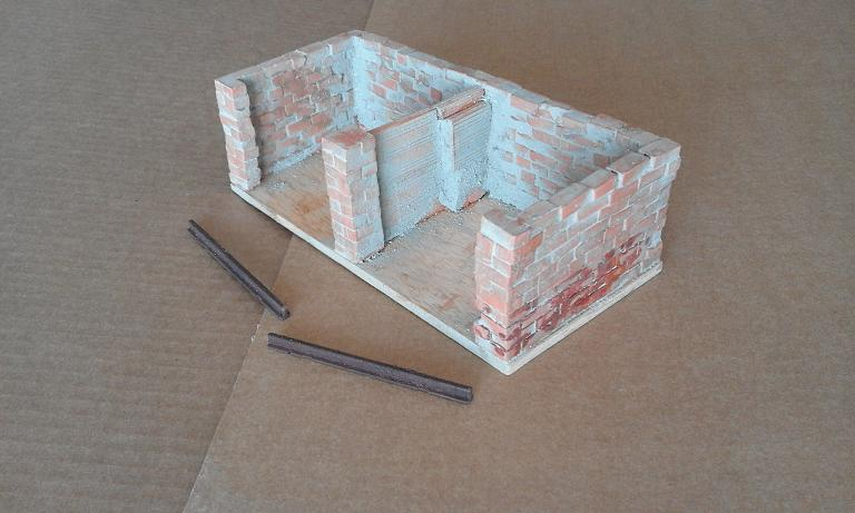 Construcció d'una carbonera d'inspiració lliure. A_120