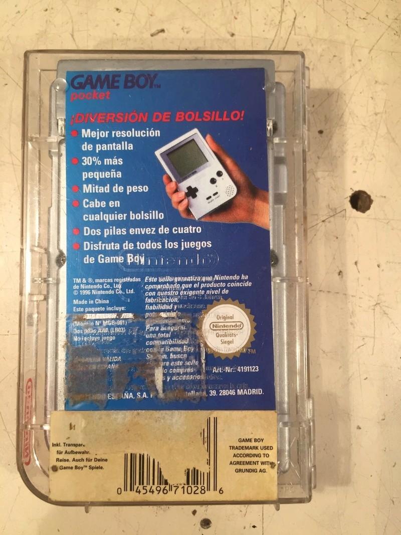 EST _ Jeux GB en boîte et console GB pocket  Img-2040
