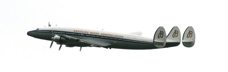 Actu: Breitling cesse de soutenir les vols du Super Constellation Sconst10