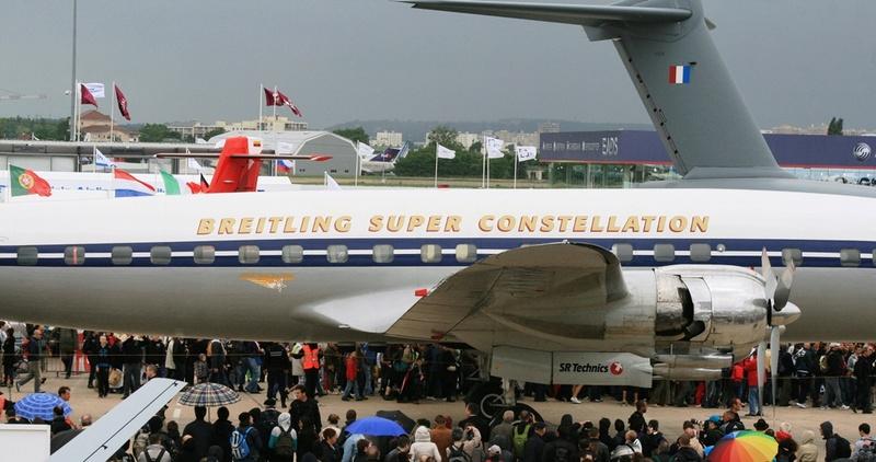 Actu: Breitling cesse de soutenir les vols du Super Constellation Sconst13
