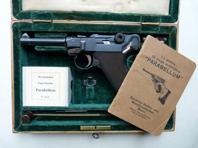 Luger modèle 1908 commercial argentin, 9 mm, n° 43457, en coffret. - Page 2 P1060710