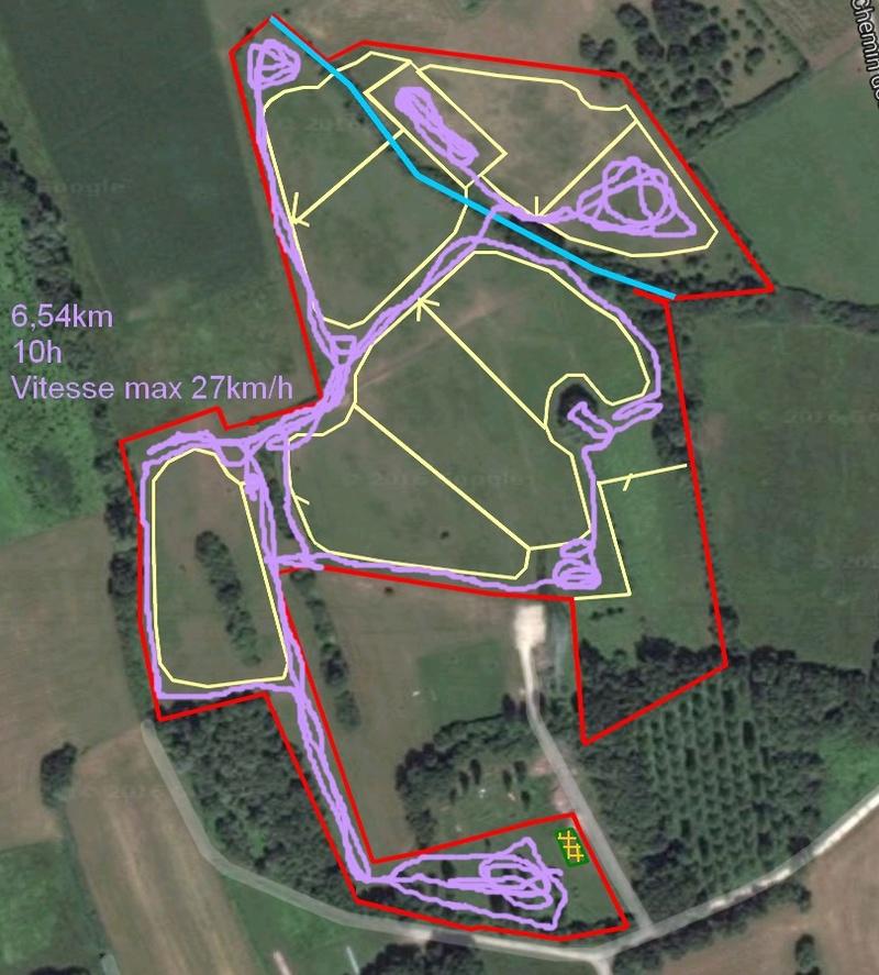 """Installation d'un """"paddock paradise"""" sur 6ha! Le PP vu du drone :) - Page 6 Parcou11"""
